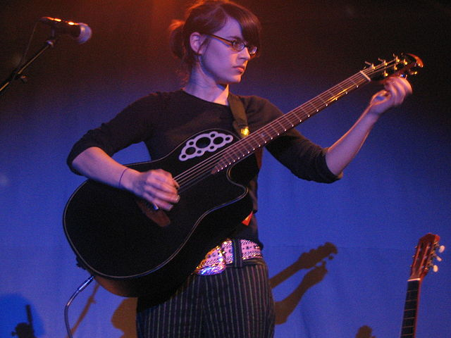Kaki King Video- Live on the Letterman Show