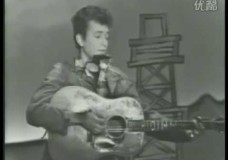 Bob Dylan 's First TV Appearance: 1963