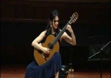 "Iren Arutyunyan Performs Fuoco from ""Libra Sonatine"""