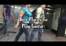 Guitaro5000: Live in an elevator!