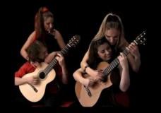 2 guitars- 4 guitarists
