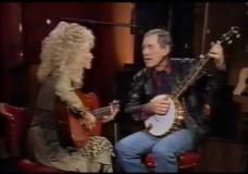 Chet Atkins Tries His Hands At Banjo