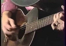 Stevie Ray Vaughan Plays Acoustic Blues