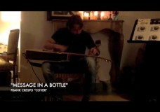 Frank Crespo: Tapping a Message in a Bottle