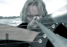 Jason Carter: Harp guitar with a bow