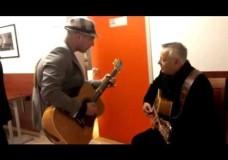 Tom Lumen And Tommy Emmanuel- Backstage
