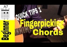 Fingerpicking Chords (and moves) for Beginners: QUICK TIPS