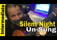 Silent Night Fingerstyle- Lesson 2 Intermediate