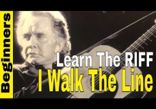 I Walk The Line- Johnny Cash- Learn The Travis Pattern