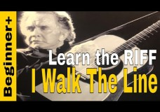 I Walk The Line- Johnny Cash- Lesson 2 Travis Picking Style