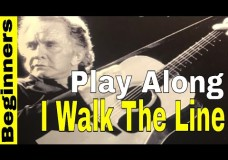I Walk The Line Beginners PLAY ALONG Simplified Travis Picking