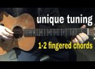 Unique Tuning  1 – 2 fingered Chords